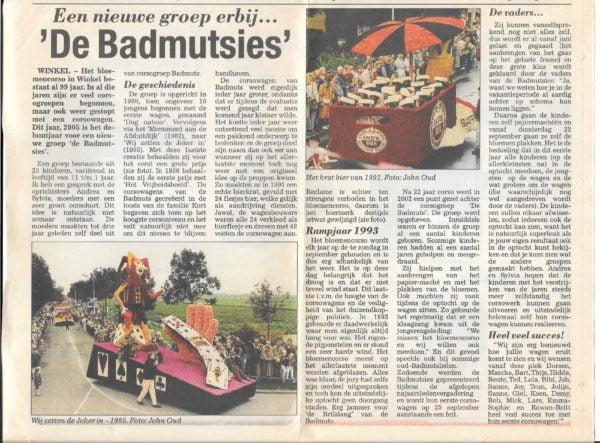 Krantenartikel 2000